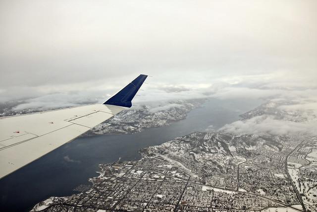 leaving snowy kelowna
