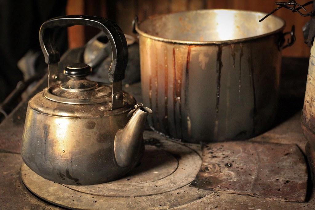 Gaucho stove...