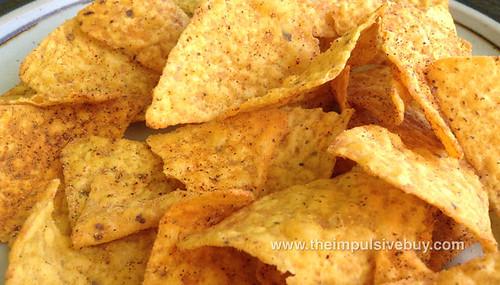 Doritos Locos Taco Tortilla Chips Cool Ranch Closeup