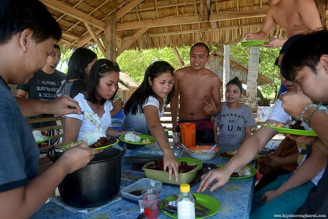 Picnic in Magalawa Island Palauig Zambales