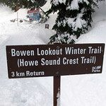 Bowen Lookout Winter Trail (Howe Sound Crest Trail)