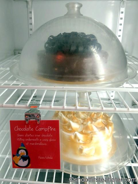 chocolate campfire cake P600