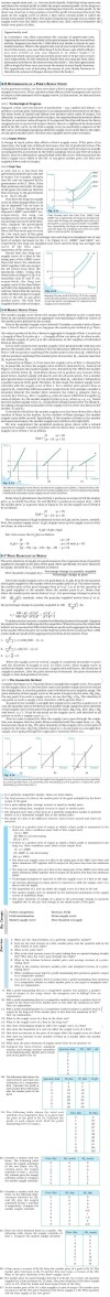 NCERT Class XII Economics Microeconomics - The Theory of the Firm under Perfect Competition
