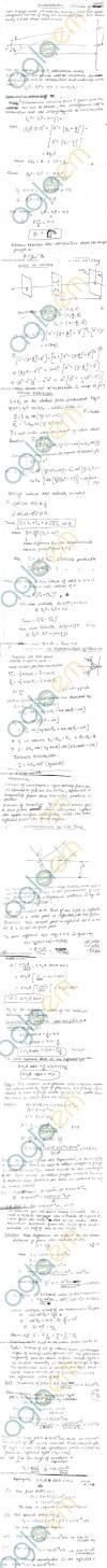 DTU: Notes - 1 Sem Physics - Optics