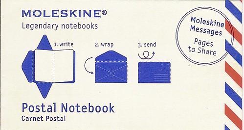 Moleskine Postal Notebook Review Header Graphic