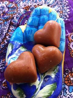 Goji-Pomegranate White Chocolates