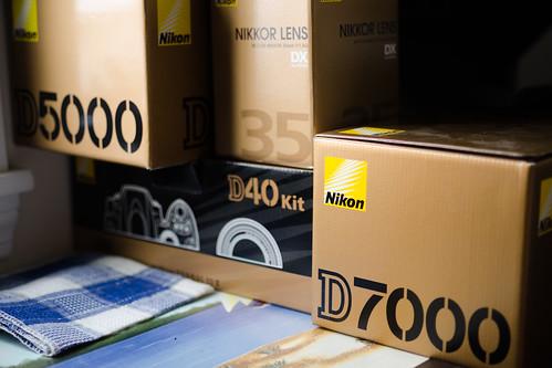 Nikon Boxes