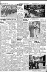 Scottsboro March Rates Four Photo in Afro American: 1933