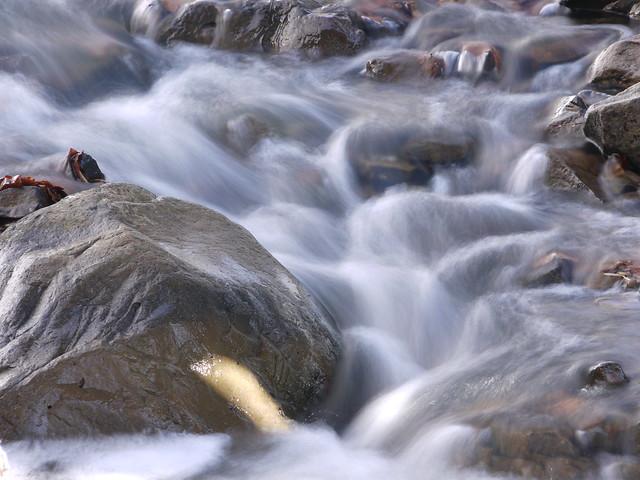 little stream flowing