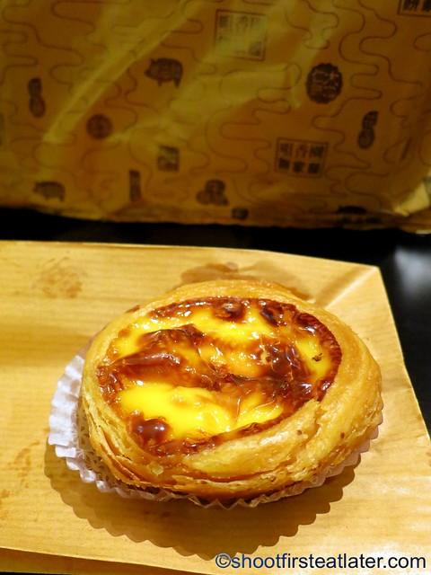 Choi Heong Yuen's Portugese egg tart MOP$8-001