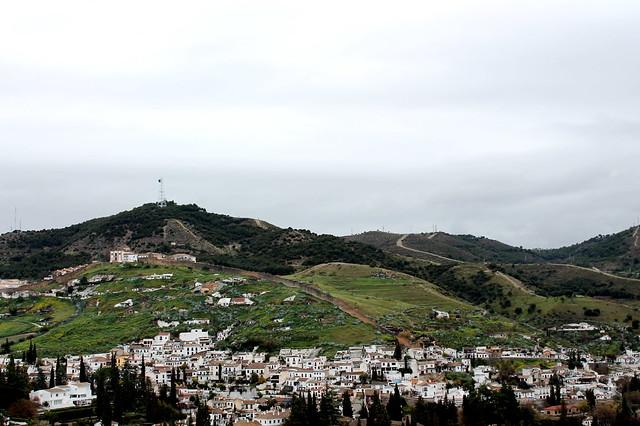 Looking over Granada