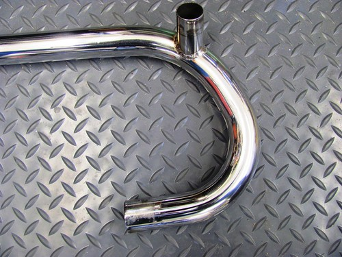 51 BMW 1973 R75/5 Refinish the Header Pipes | Brook's