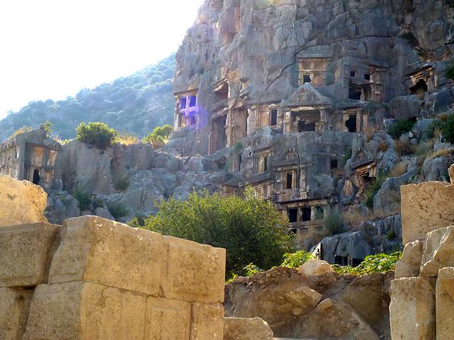 Turquie - jour 10 - Demre (Myra) - 096 - Nécropole de Myra (Örenyeri)
