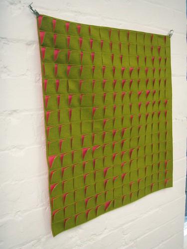 Squares hanging