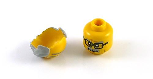 71001 LEGO Minifigures Series 10 08 Grandpa 05