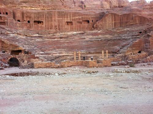 Amphitheater in Petra, Jordan (February 2013)