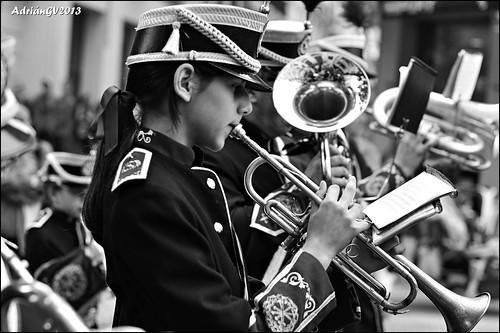 Xiqueta amb corneta by ADRIANGV2009