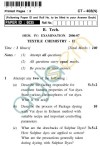 UPTU B.Tech Question Papers - CT-403(N) - Textile Chemistry-II