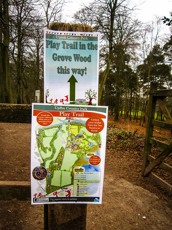 Signs at the Entrance to Grove Wood