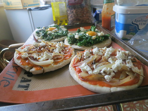 Easy rustic pizza