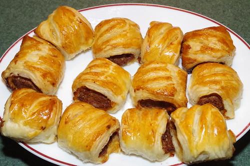 Yotam Ottolenghi's merguez sausage rolls by La belle dame sans souci