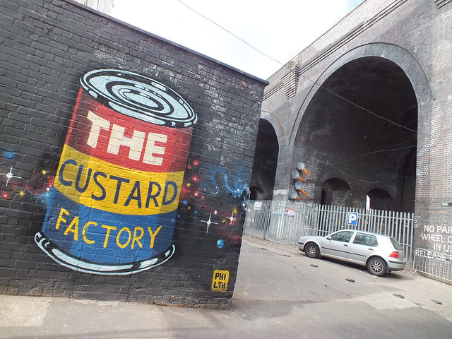 Graffiti at The Custard Factory, Birmingham