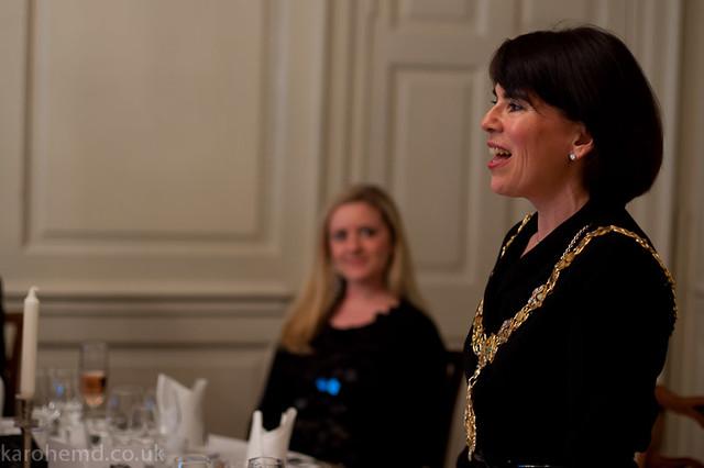 The Lady Mayor of Cambridge, Councillor Sheila Stuart