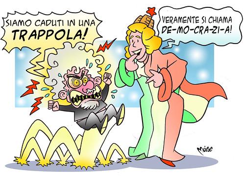 Grillo in Trappola ? by Moise-Creativo Galattico
