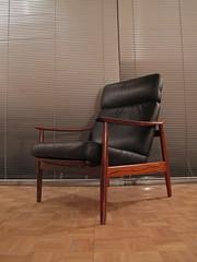 Arne Vodder Model 164 Rosewood Lounge Chair