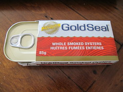 Gold Seal Smoked Oysters