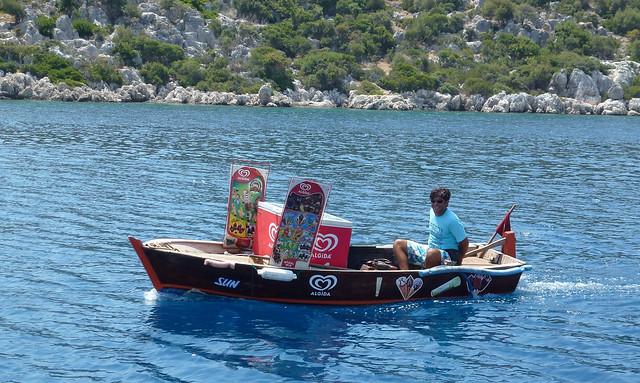 Turquie - jour 8 - Baie de Kekova - 56