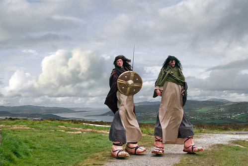 Giants from the Inishowen Carnival Group