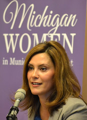 Michigan Senator Gretchen Whitmer Speaks at the 2013 Michigan Women in Municipal Government Breakfast