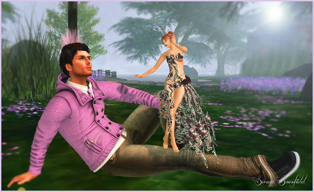 Fabulously Free in SL - A Jolie Fleur du Soir