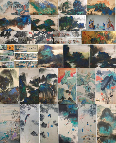 張大千 Zhang Daqian 张大千 29 Fine Chinese Paintings 29 幅精品中國書畫