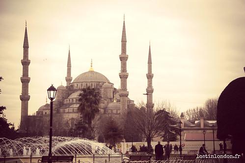 un week-end à istanbul mosquée bleue