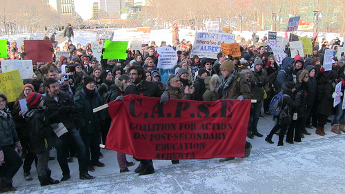 C.A.P.S.E. Rally for Post-Secondary Education