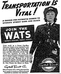 Join Capital Transit WATS: 1943