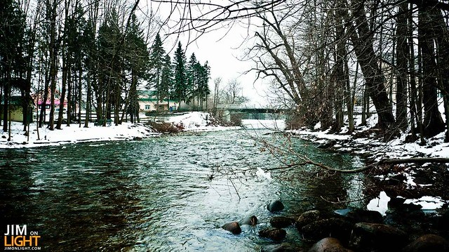 The Saugeen River, Durham, Ontario