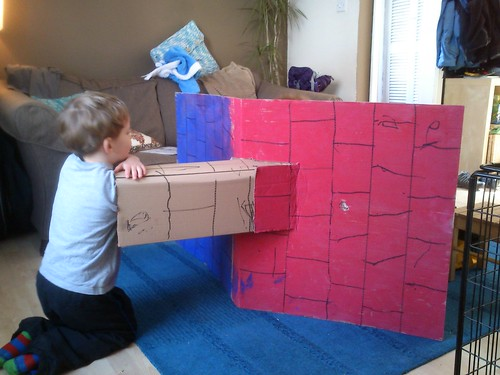 The Cardboard box - fortress