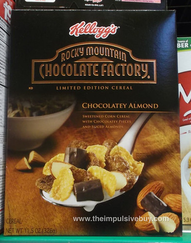 Kellogg's Limited Edition Rocky Mountain Chocolate Factory Chocolatey Almond