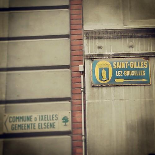 1060 vs 1050 #saintgilles #ixelles #bruxelles #igersbrussels #somewhereinbrussels