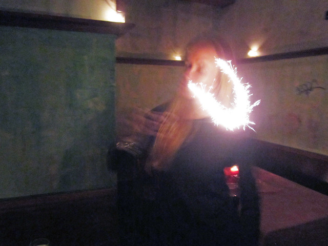 e with the sparkler 2