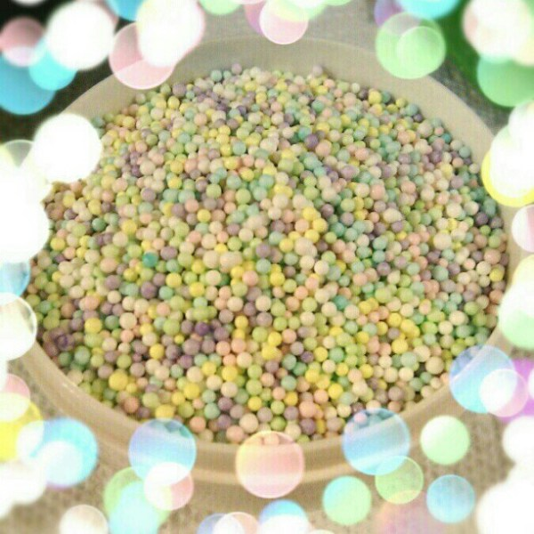 These sprinkles look like mini Mini Eggs.