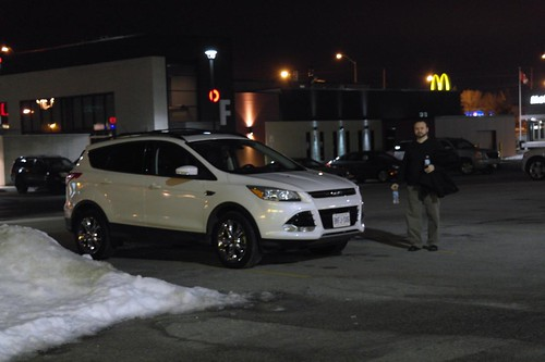 Gerry and the Ford Escape in Ajax