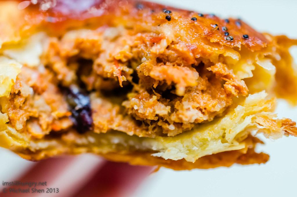 Bourke St Bakery - Lamb & Harissa Roll innards