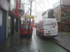 DPD and another van