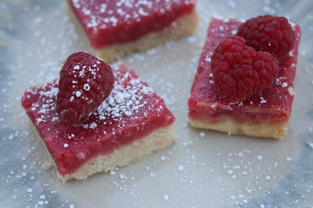 Raspberry Lemonade Bars : Sunday Morning Sugar