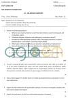 DTU Question Papers 2010 – 1 Semester - Mid Sem - AC-104
