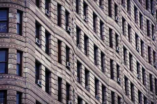Flatiron Building, wall detail - arch. Daniel Burnham